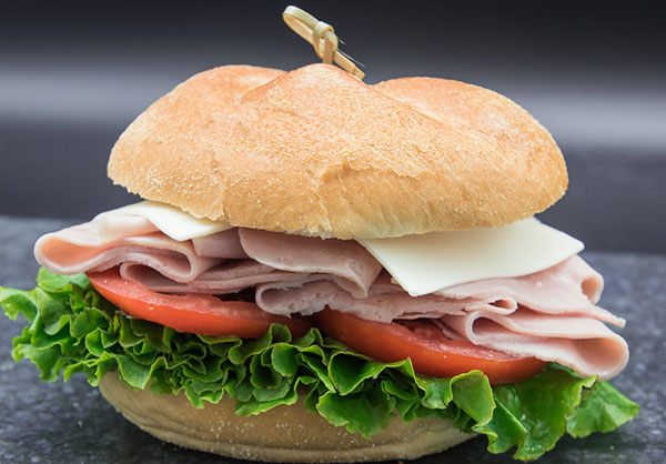 brown bag ham and cheese