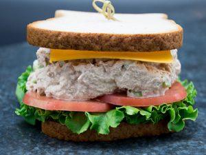Gluten free tuna and cheddar