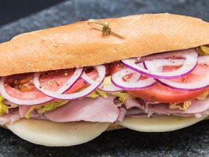 Ham and Cheese Hoagie