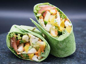 Vegan Spinach wrap