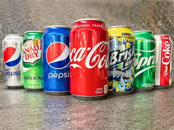 can sodas