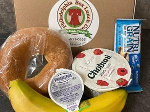 bagel breakfast box